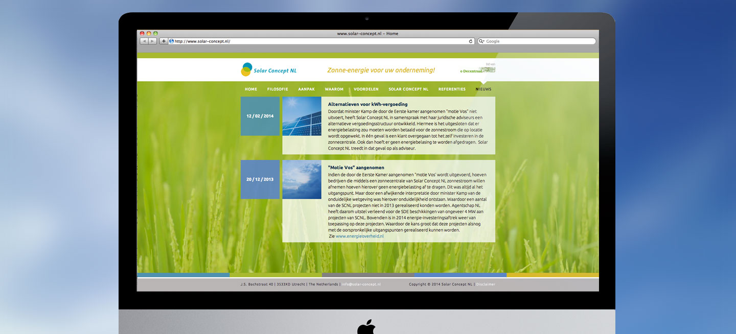 Website - Solar Concept NL